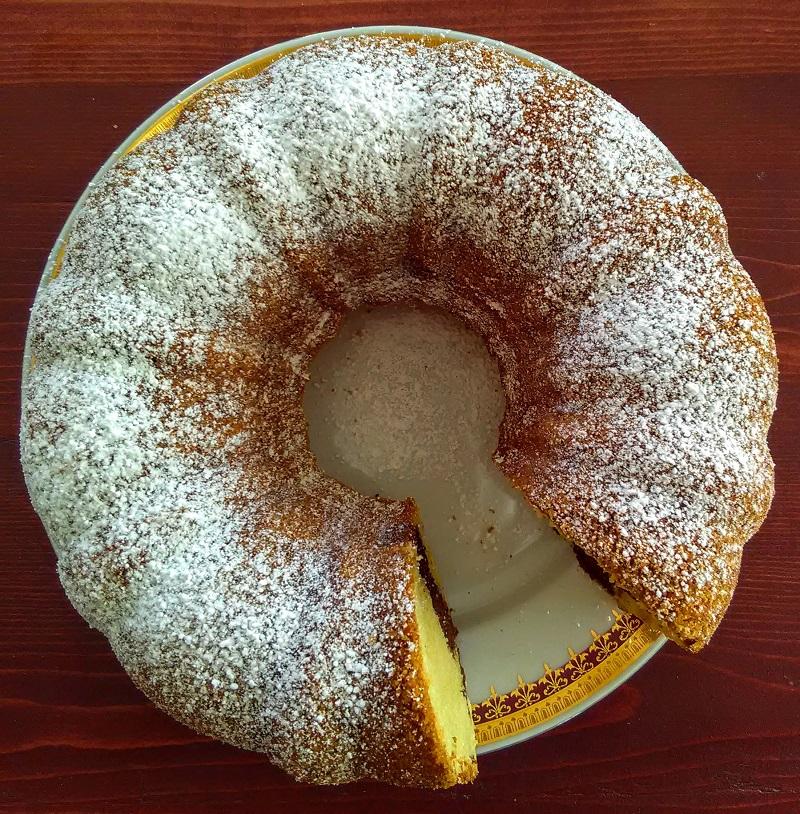 Czech Marble Cake or Bábovka