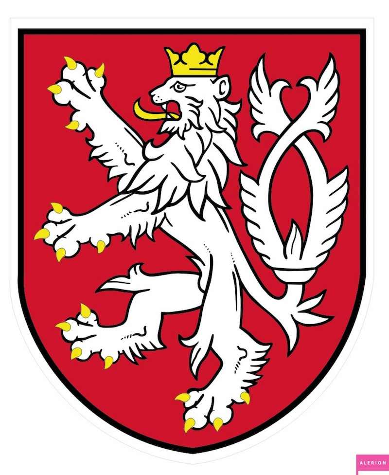 The History Of The Czech Coat Of Arms Tres Bohemes