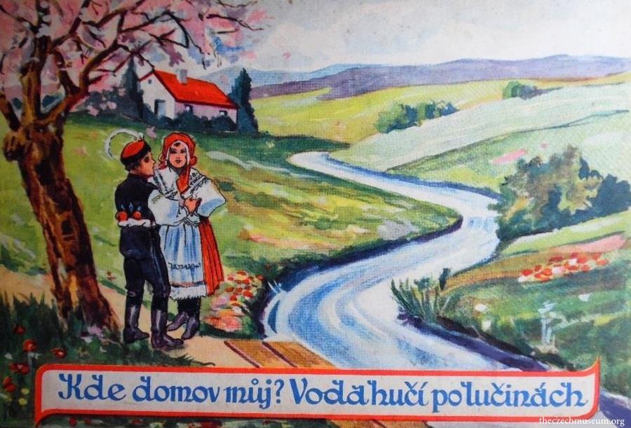 Old Czech Language and the National Anthem in Fidlovačka