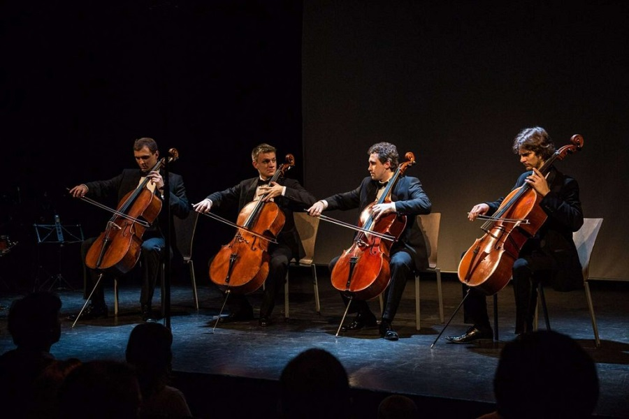 The Wonderful Talent of the Prague Cello Quartet