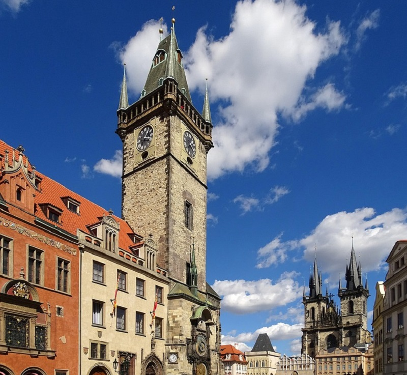 Staromstsk Radnice Aka The Old Town Hall Of Prague By Count Ltzow