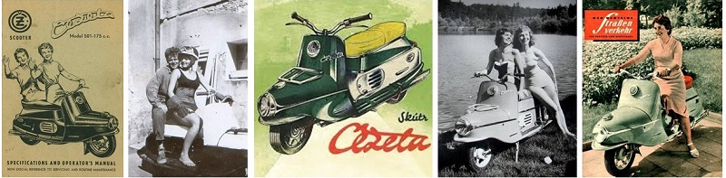 The Return of The Iconic Czech Čezeta Scooter