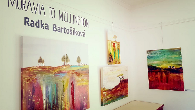 Czech Contemporary Abstract Artist Radka Bartosikova