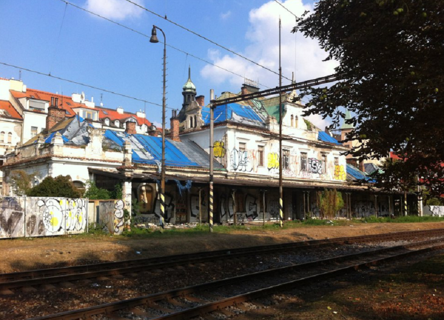 The Tragic Fate of the Vysehrad Train Station