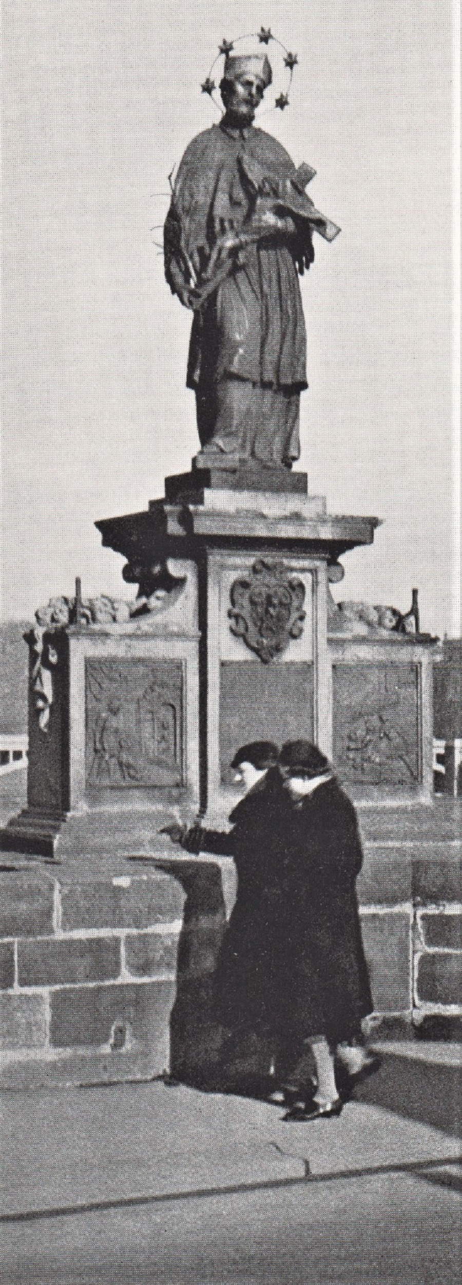 John of Nepomuk on Charles Bridge 1938