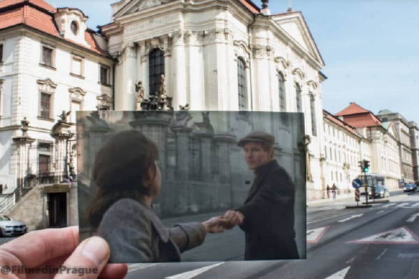 Movie Scenes from Prague