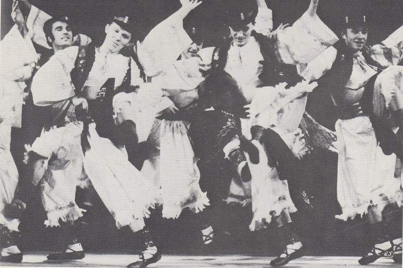 Lúčnica - Czechoslovakian Folk Ballet from Bratislava