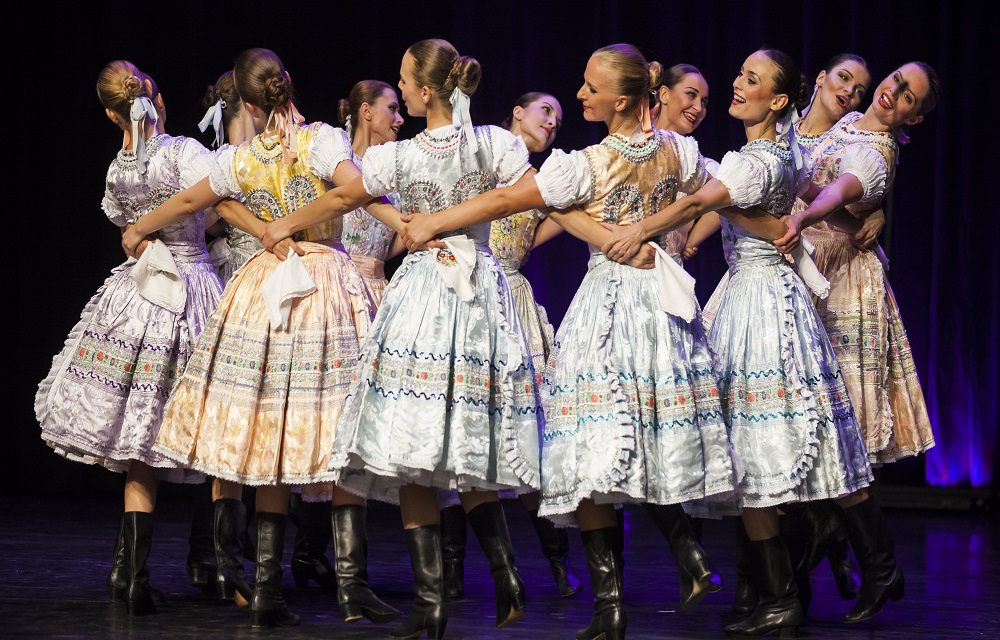 Lucnica Czechoslovakian Folk Ballet From Bratislava