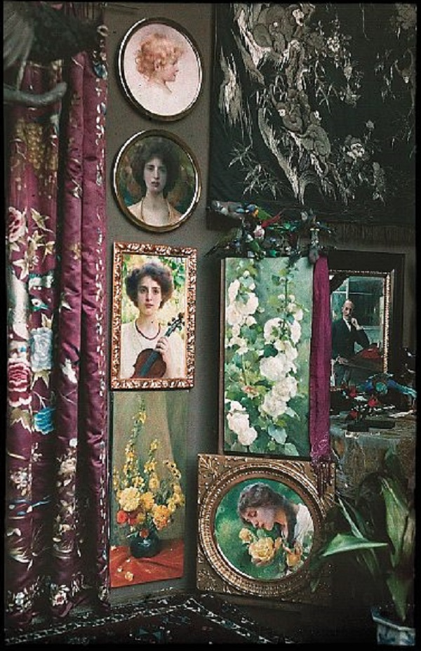 Earliest Czech Autochrome Photograph