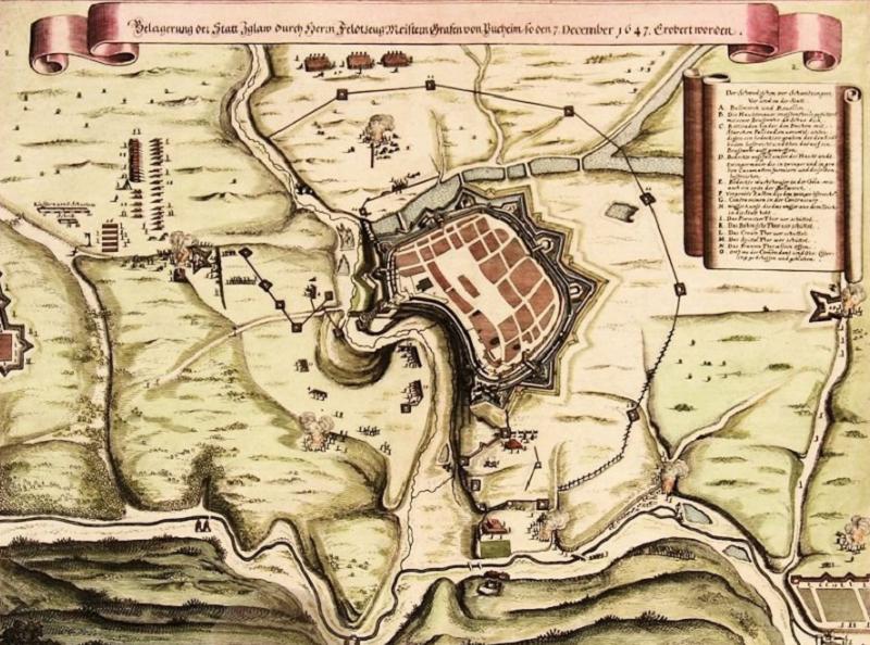 Jihlava Map