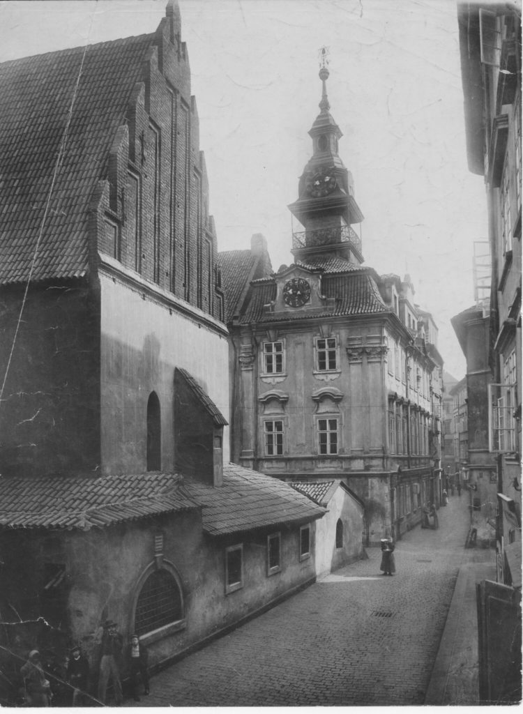 Altneuschul or Old New Synagogue of Prague