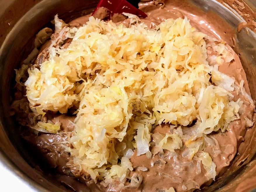 Czech Sauerkraut Chocolate Cake Recipe