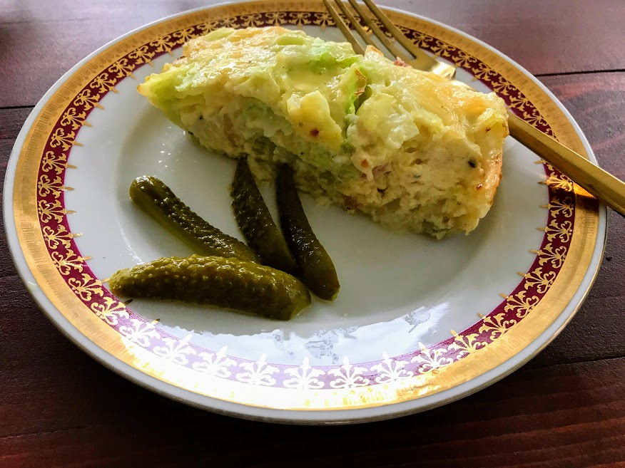 Czech Keto Dish - Zelofleky from Cabbage