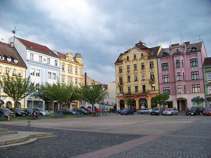 Masaryk Square in Děčín Through the Ages