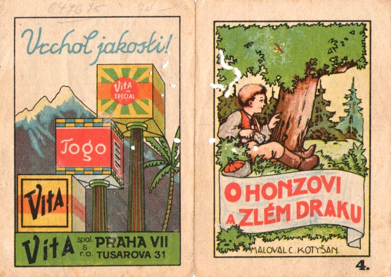 Czech fairy tales in advertising