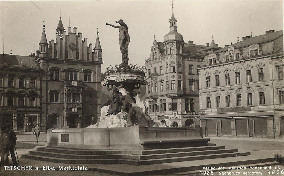 Masaryk Square in Děčín Through the Ages