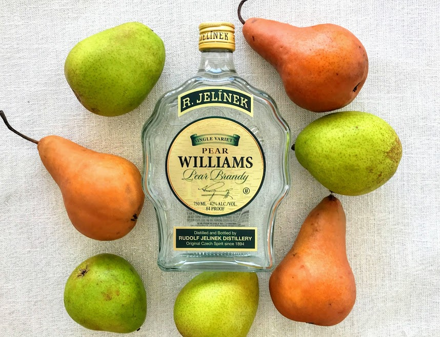 Wonderful Gift of Pear Williams Pear Brandy