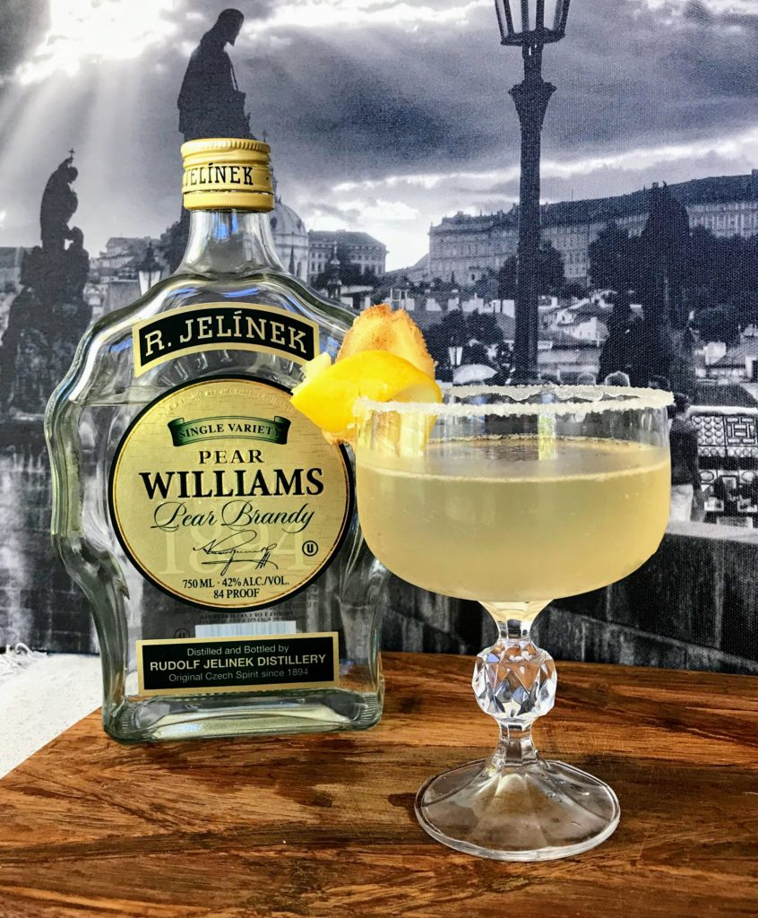 The Countess' Carriage by Zachary Jezek with Pear Williams Pear Brandy