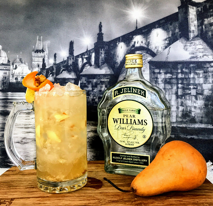 Bohemian Autumn by Zachary Jezek with Pear Williams Pear Brandy
