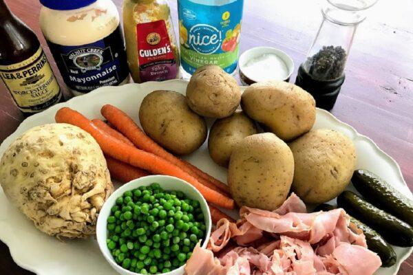 Czech Retro Potato Salad by Tres Bohemes
